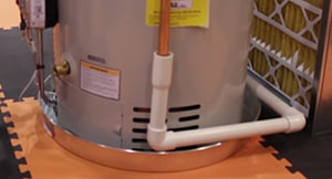 Drain Pan Required Under A Water Heater